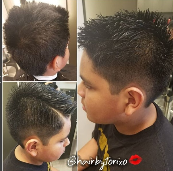 Short Spikes With Side Fade