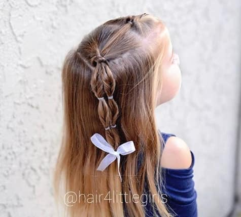 Cornered Braids For Long Hairstyles