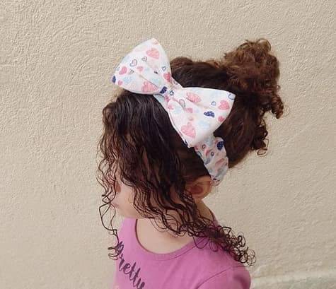 Curly Fringe With Bun