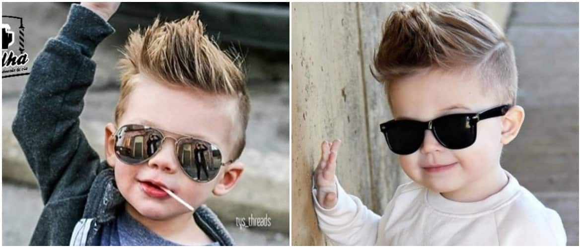 Kid Hairstyles Boy 2018: Cute Little Boys Haircuts 2018