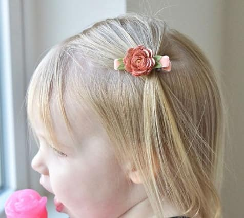 Forward Swept Bangs With Side Pony