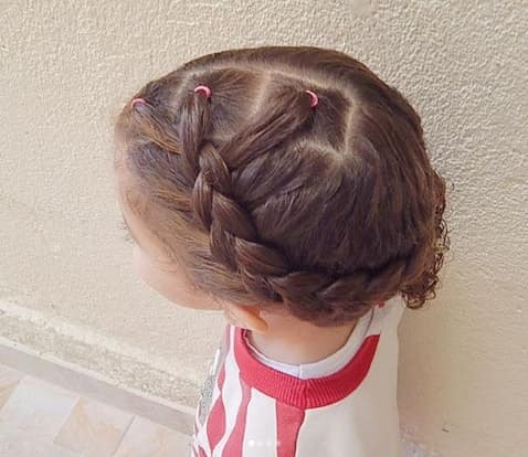 Thick Braided Hairstyle