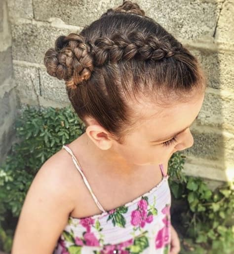 Braided Pigtails For Little Girls