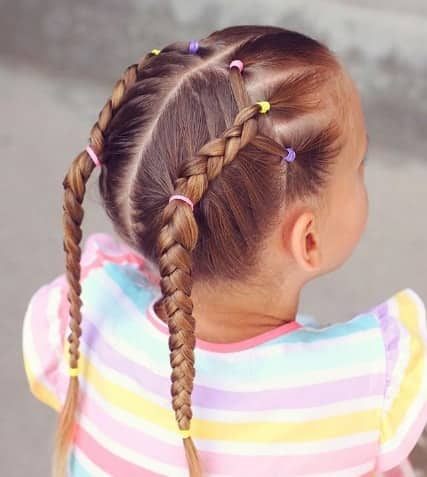 57 Cool Braids for Kids 2018 - Mr Kids Haircuts
