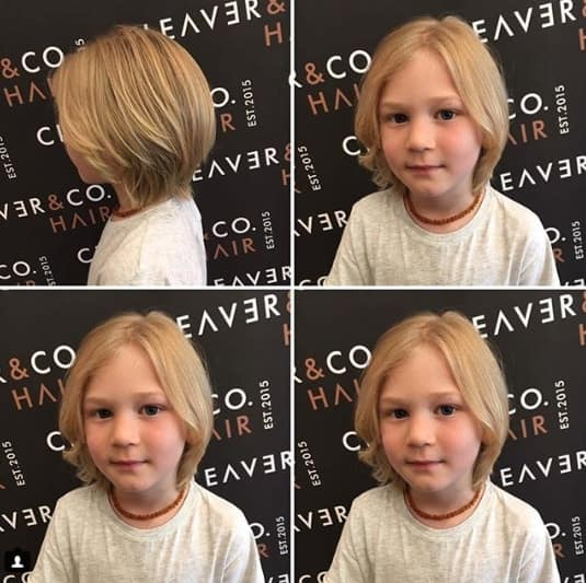 Centre Parted Bob Hairstyle
