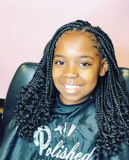 40 Braids For Black Kids