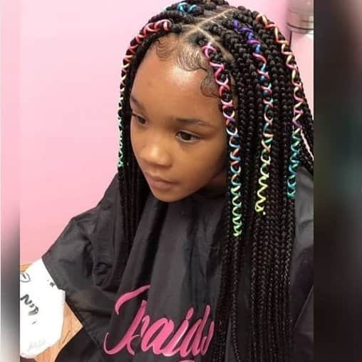 40 Braids for Black Kids 2018 - Mr Kids Haircuts