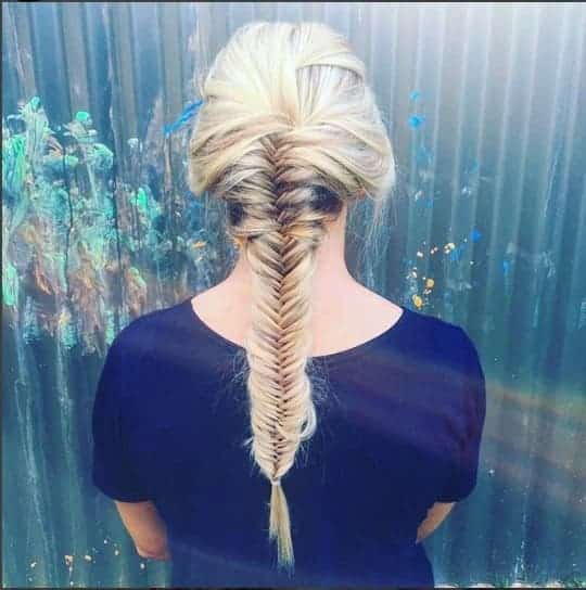 How To Fishtail Braid Your Own Hair