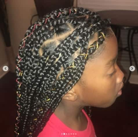 Sectioned Box Braids