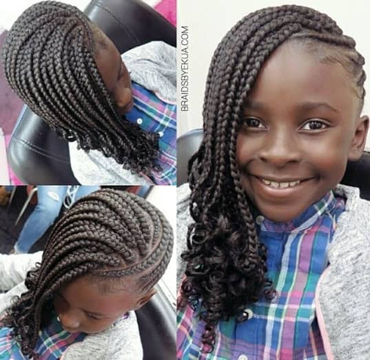 31 Box Braids For Kids 2019, Perfect Styles With Detailed
