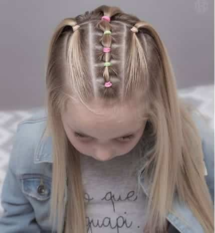 Beautiful Hairstyle With Braided Design On Top