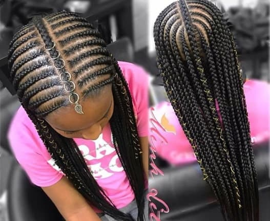 Braided Hairstyle For Black Girls 2018