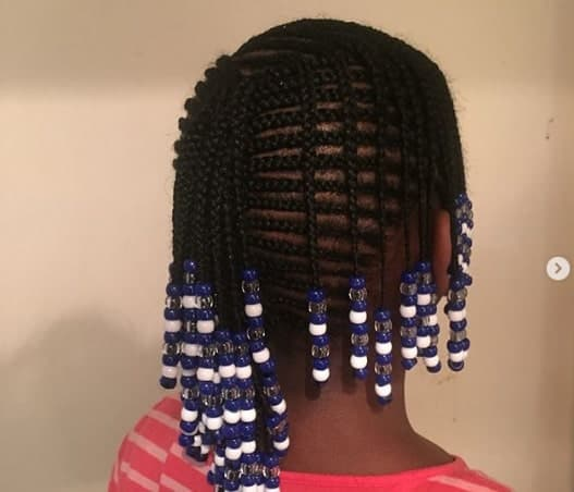 Braided Hairstyle For Black Girls