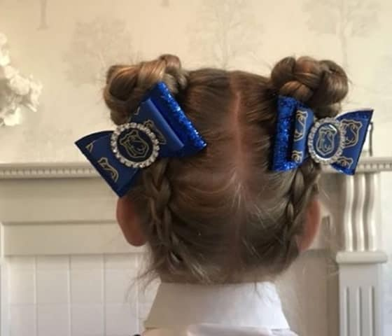 Buns & Bows for School Girls