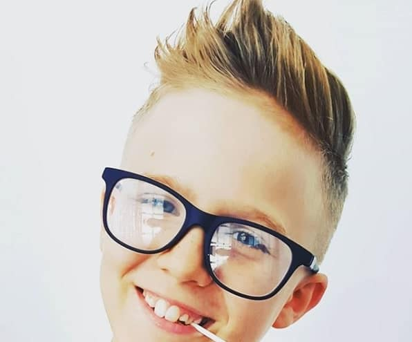 Comb Over Hairstyle With Undercut