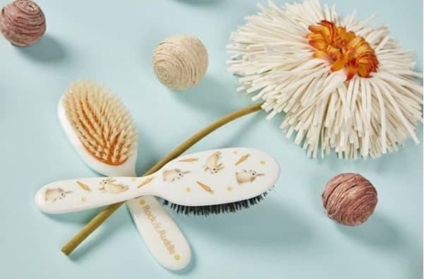 How To Clean Baby's Brush