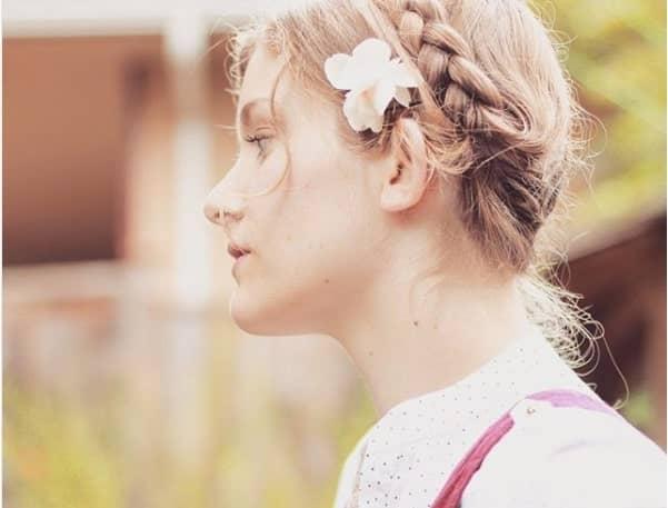 Milkmaid Braids for School Girls