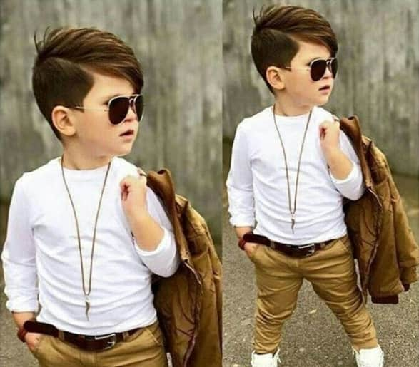 Side Parted Hairstyles for Boys School