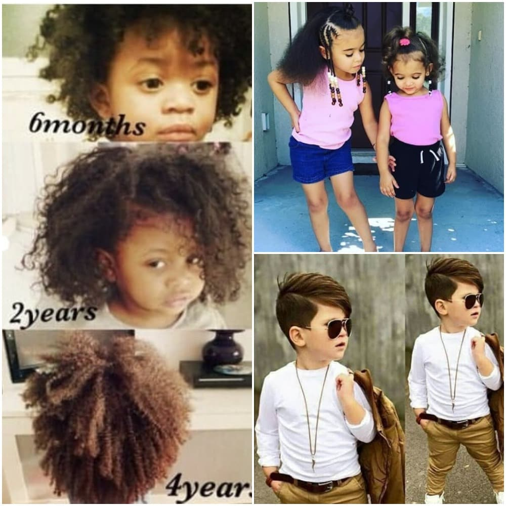 Baby Hair Growth Stages