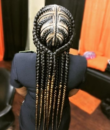 Intricate Braided Crown Hairstyle
