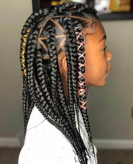 Thick Braids All Over