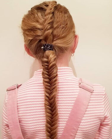 Cool Braided Hair Band With Nice Ponytail