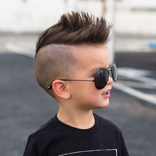 Mohawk With Disconnected Undercut