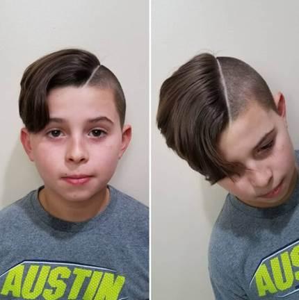 Side Swept Hairstyle With Extravagant Fringe