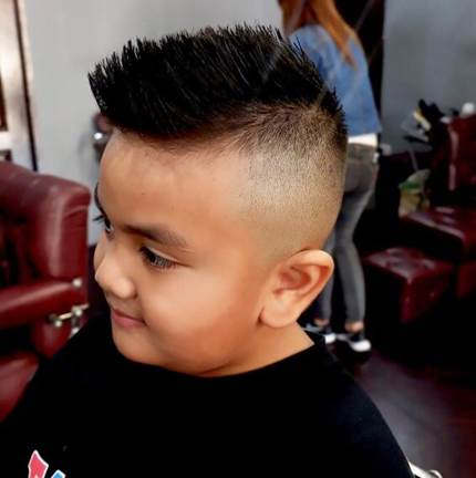 Undercut Fade With Spikes