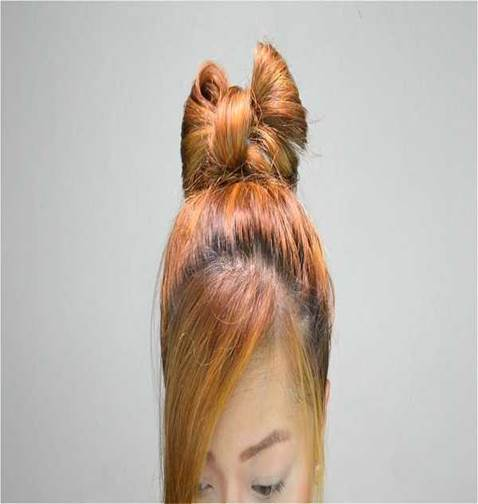 Bow Hairstyle For The Red-Heads