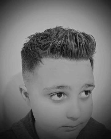 Casual Quiff With Lineup