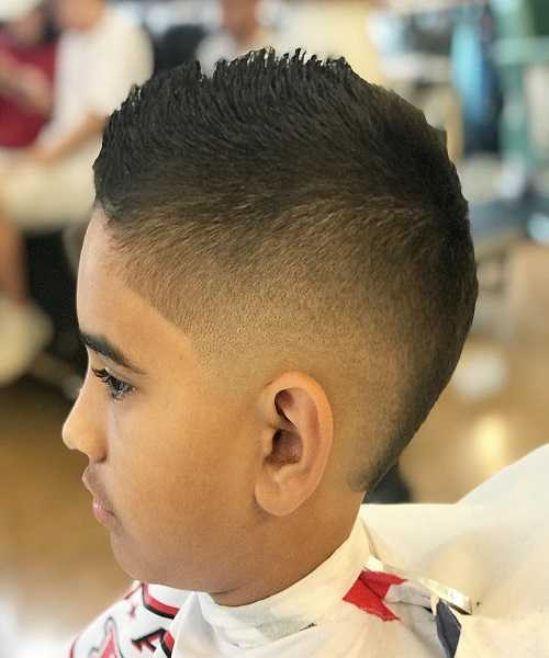 Fohawk With Blended Undercut