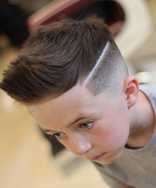Forward Swept Hair With Frontal Quiff