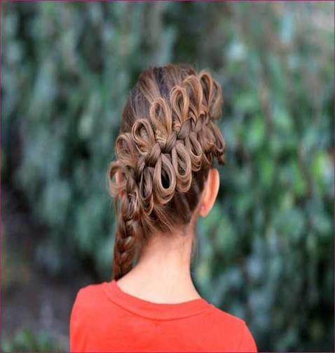 French With Bow Braided Design
