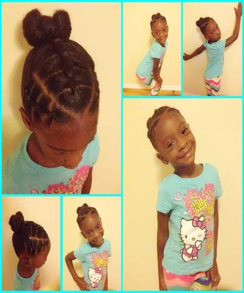 Hair Bow For Black Girls