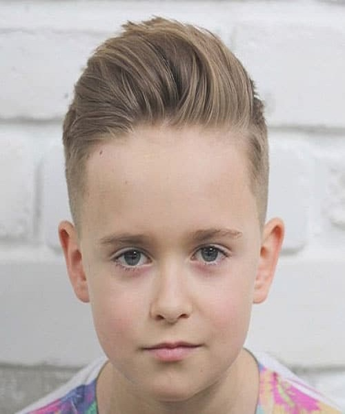 Slick Haircut With A Quiff, High And Tight