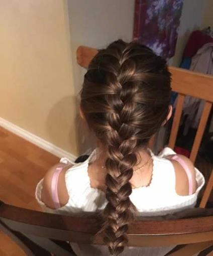 Thick French Braided Tail