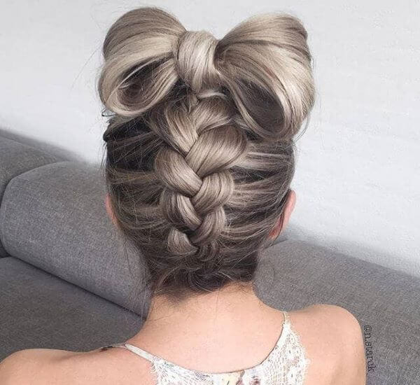 Bottom-To-Top With A Big Hair Bow