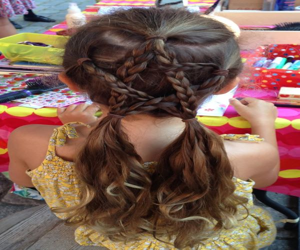 Corset French Braids