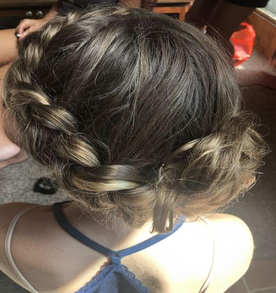 Dutch Braided Crown