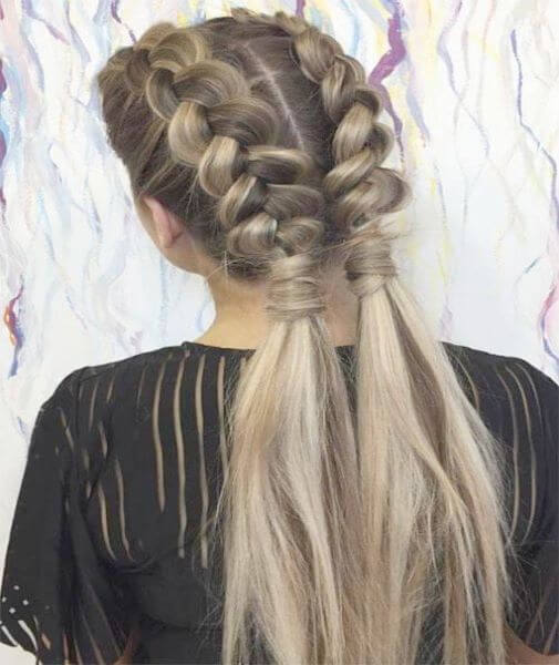 Long And Loose Side Braided Hairstyle