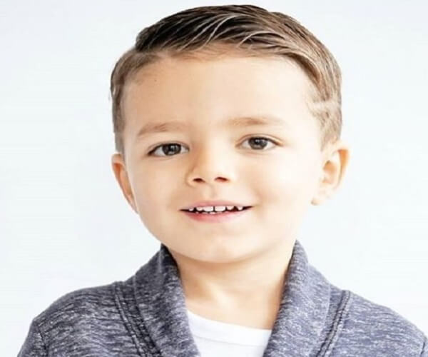 Medium Length Regulation Haircut