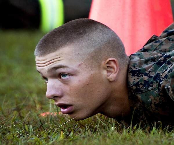 Regulation Haircut Military Style