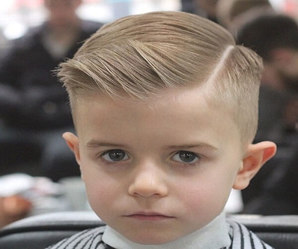 Short On Top And Tapered Sides