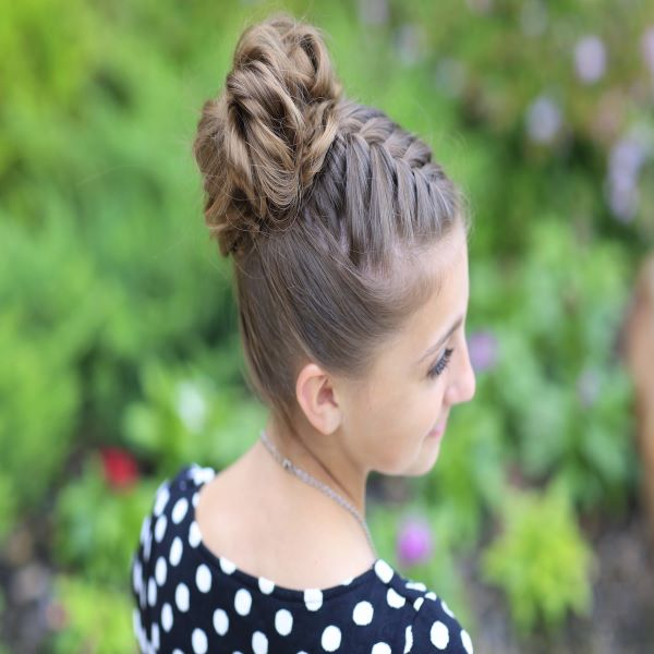 Twisted Braided Ponytail