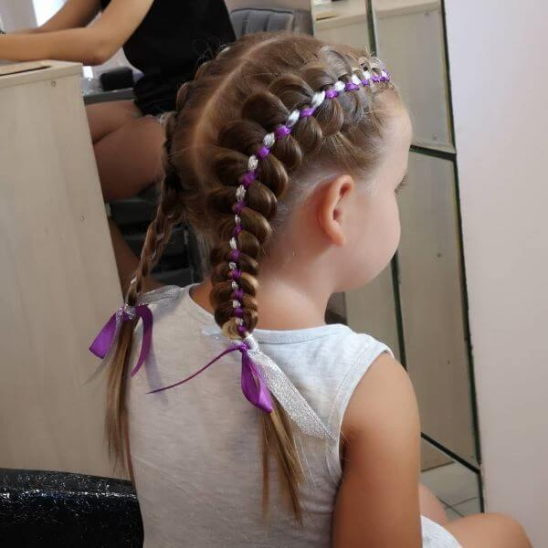 Twisted Double Braids
