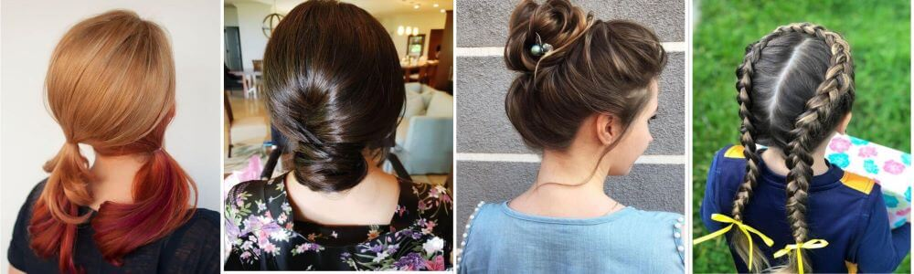 10 Quick And Easy Girls Hairstyles For School For A Simple