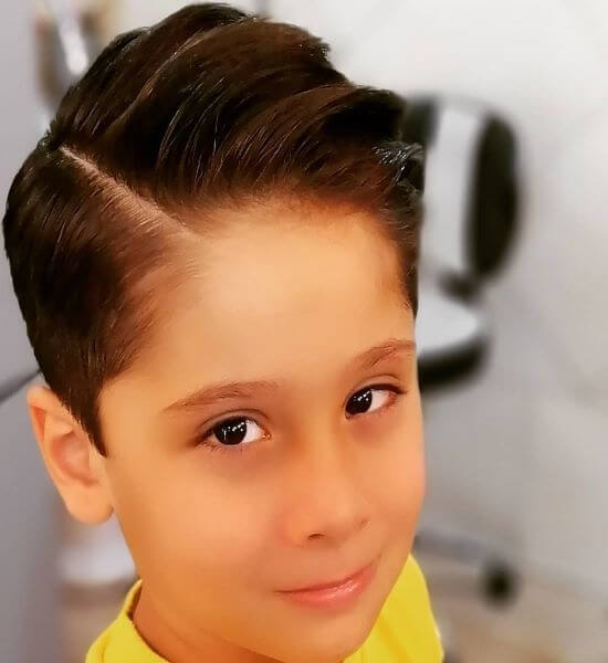 Side Parted Hairstyle