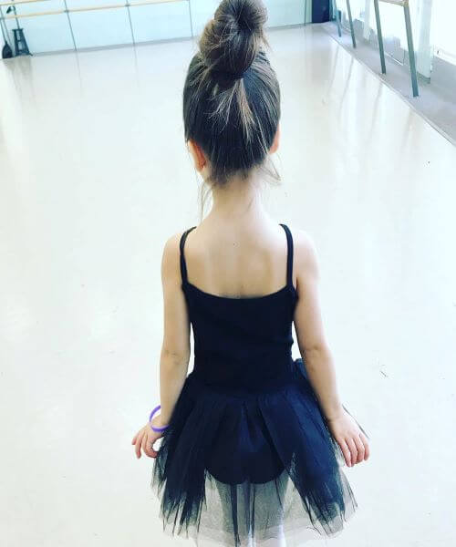 Top knot Ballerina Bun