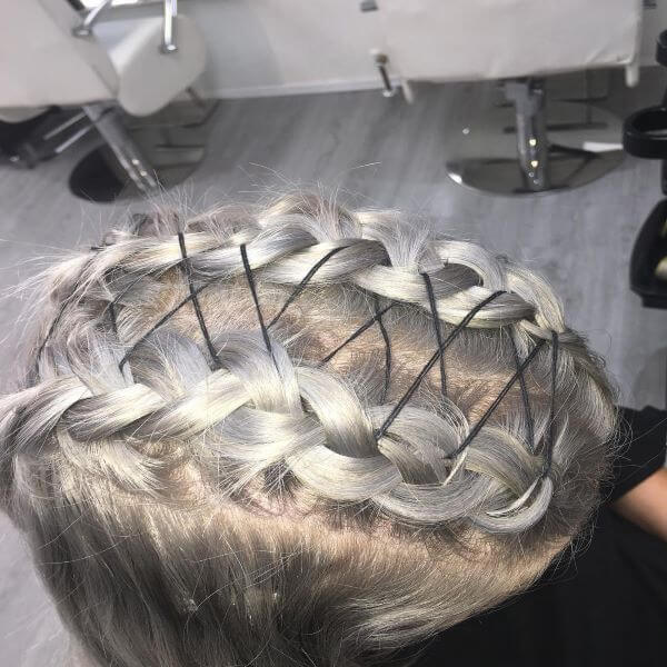 Tied Up Braids